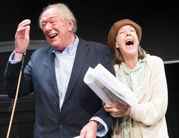 Michael Gambon and Eileen Atkins in Samuel Beckett's All That Fall